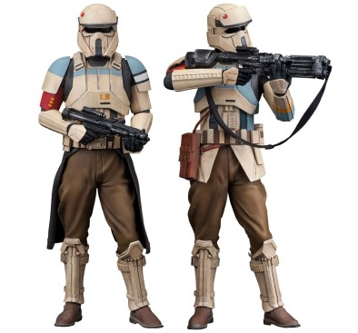 Star Wars Rogue One ARTFX+ Statue 2-Pack Scarif Stormtrooper 18 cm