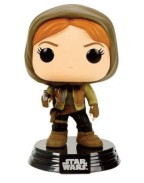 Star Wars Rogue One POP! Vinyl Bobble-Head Figure Jyn Erso Hooded 10 cm