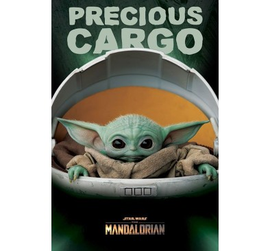 Star Wars The Mandalorian Poster Pack Precious Cargo 61 x 91 cm