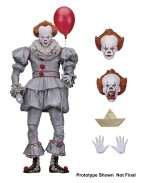 Stephen King's It 2017 Action Figure Ultimate Pennywise 18 cm