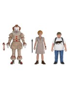 Stephen King's It 2017 Action Figures 3-Pack Set 1: Pennywise, Ben, Beverly 10 cm