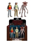 Stranger Things ReAction Action Figures 3-Pack Dustin, Will & Demogorgon 8 cm