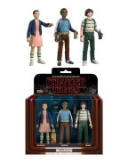 Stranger Things ReAction Action Figures 3-Pack Mike, Eleven & Lukas 8 cm