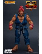 Street Fighter V Arcade Edition Action Figure 1/12 Akuma Nostalgia Costume 18 cm