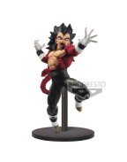 Super Dragon Ball Heroes PVC Statue Super Saiyan 4 Vegeta Xeno 9th Anniversary 17 cm
