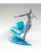 Tamashii Effect Action Figure Accessory Wave Blue Version