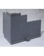 Tamashii Option Action Figure Accessory Brick Wall (Gray Ver.) 22 cm