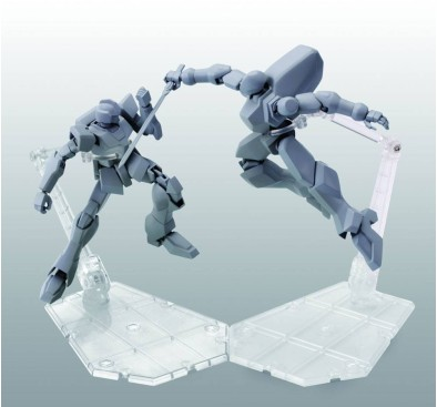 Tamashii Stage Figure Stand Act.5 for Mechanics Clear 14 cm