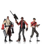 Team Fortress 2 Action Figures 18 cm Serie 4 RED (Set 3 figurine)