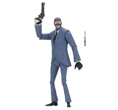 Team Fortress Action Figures 18 cm Serie 3.5 BLU Spy