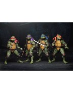 Teenage Mutant Ninja Turtles (1990 movie) Action Figure Set (4) 18 cm