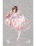 The Idolmaster Cinderella Girls PVC Statue 1/7 Miku Maekawa Dreaming Bride Ver. Limited 24 cm