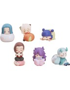 The Legend of Hei Mini Figures 6-Pack Wagashi 5 - 7 cm