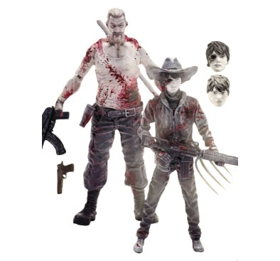 TWD 2-Pack, Abraham Ford & Carl Grimes 12.5 cm