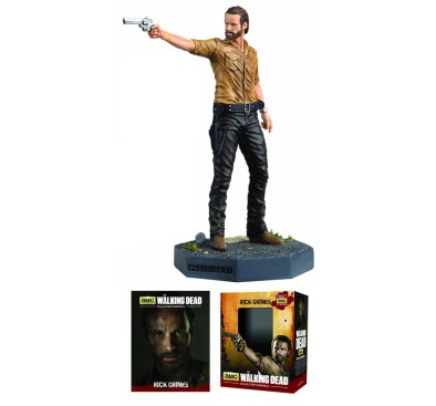 The Walking Dead Collector´s Models Mini Figure Rick Grimes 10 cm