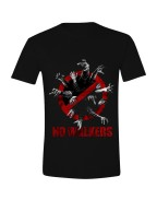 The Walking Dead - No Walkers T-shirt - Black, Size XL