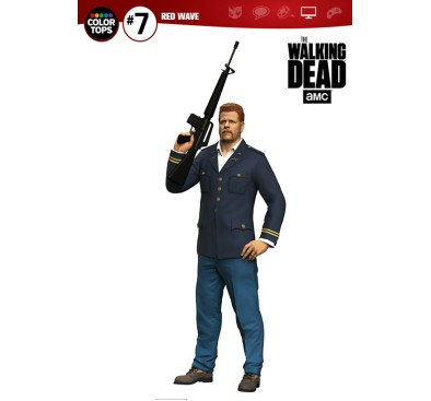 The Walking Dead TV Version Color Tops Action Figure Abraham Ford 18 cm