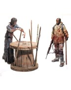 The Walking Dead TV Version  2-Pack Morgan & Walker 13 cm Serie 8