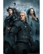 The Witcher Poster Pack Key Art 61 x 91 cm