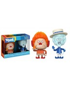 The Year Without a Santa Claus VYNL Vinyl Figures 2-Pack Heat Miser & Snow Miser 10 cm