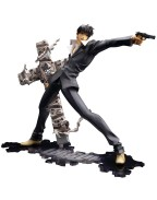 Trigun Badlands Rumble ARTFX J Statue 1/8 Nicholas D. Wolfwood Renewal Package Version 20 cm
