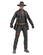 Westworld Action Figure Man in Black Battle Damaged Previews Exclusive 18 cm