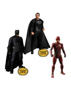 Zack Snyder's Justice League Action Figures 1/12 Deluxe Steel Box Set 15 - 17 cm